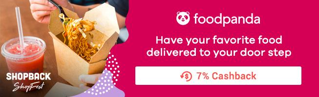 Foodpanda: Have your favorite food delivered to your door step