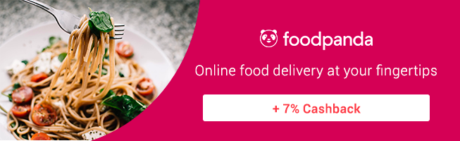 foodpanda Its the food you love delivered + 7% Cashback