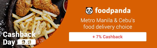foodpanda: Metro Manila & Cebu's food delivery Choice + 7% Cashback