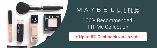 Maybelline: 100% Recommended: FIT Me Collection