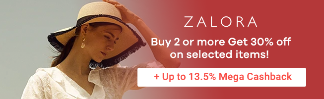 ZALORA: Buy 2 or more Get 30% off on selected items