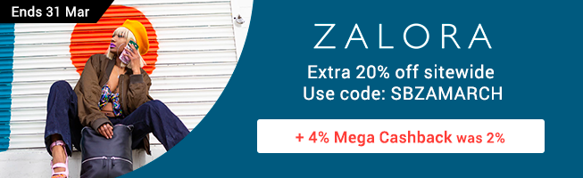 ZALORA: Extra 15% off shoes