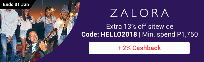 ZALORA: Extra 13% off sitewide