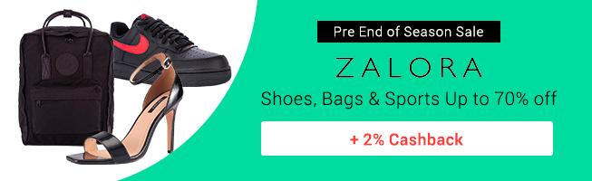 ZALORA: Extra 15% off shoes