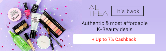 Althea: Korean skincare & beauty up to 60% off