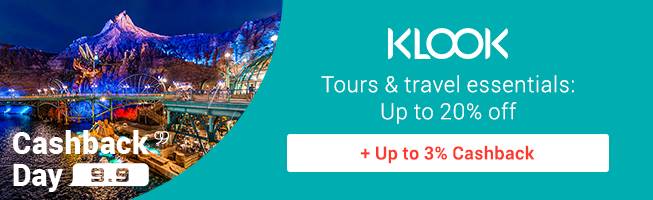KLOOK: Tours & Travel essentials up to 20% off