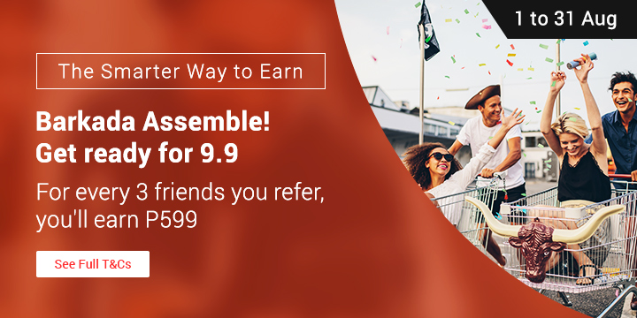 Refer your friends to ShopBack and get P599
