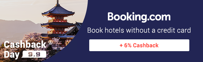 Book hotels without a credit card