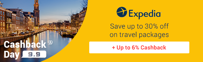 Expedia: Save up to 30% off on travel packages