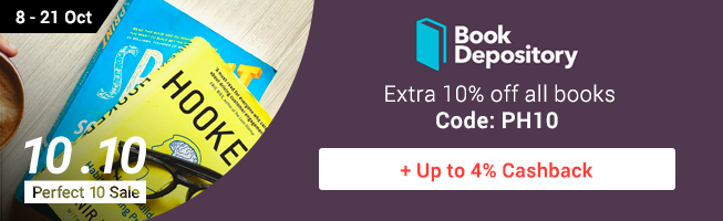 Book Depository: Great reads on Fact, Fiction or Comics + Up to 3% Cashback