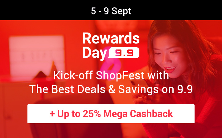 9-9 sale Philippines Up to 25% Mega Cashback