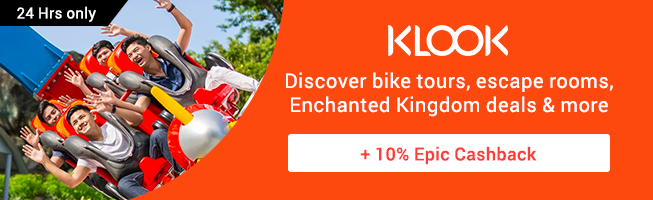 KLOOK: Discount codes for January 2018 + Get up to 3% Cashback
