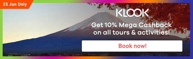 KLOOK: Get P800 off discount on selected Klook activity
