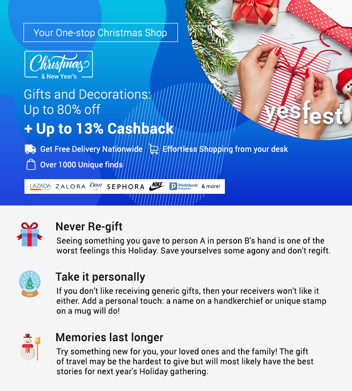 ShopBack's One-stop Holiday Shop