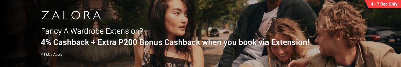 Shop via Extension and get extra P200 Cashback