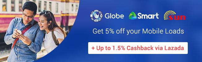 Live Smarter with ShopBack | Get cashback on mobile loads and data loads via Lazada