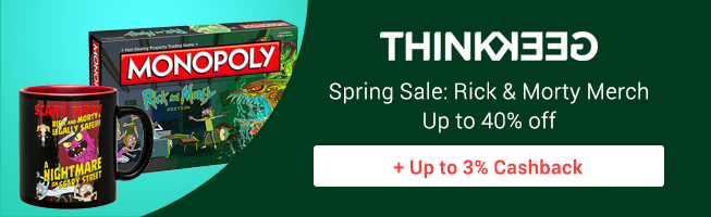 ThinkGeek: Spring Sale Rick and Morty Merch