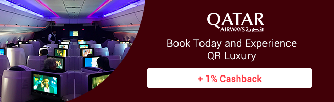 Qatar: Save up to 40% on Business Class