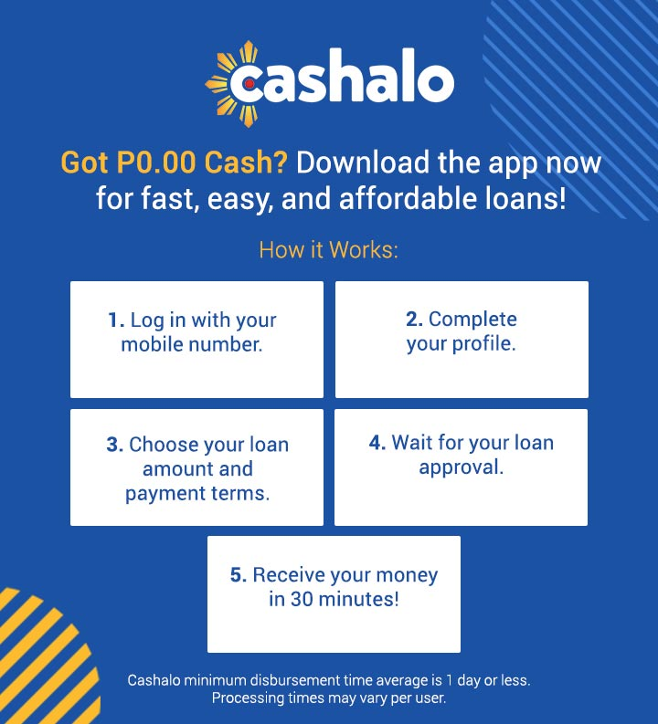 How to apply for Cashalo