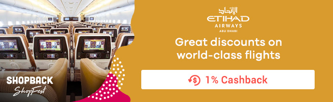 Etihad Airways: Great discount on world-class flights