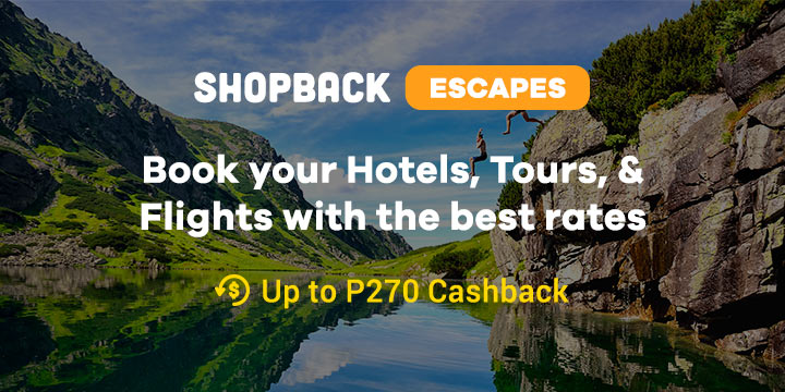 ShopBack Escape: Book your hotels, tours & flights with the best rates