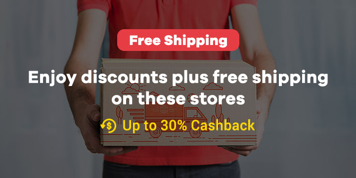 Free Shipping: Enjoy discounts plus free shipping on these stores