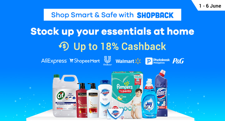 Shop Smart & Safe with ShopBack