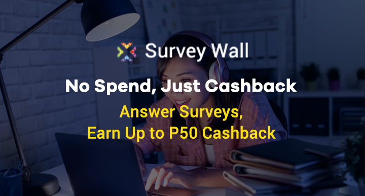Surveywall: No Spend, Just Cashback