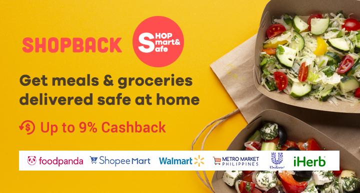 ShopBack: Get meals & groceries delivered safe