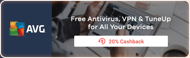 AVG: Free Antivirus, VPN & Tuneup for all Devices