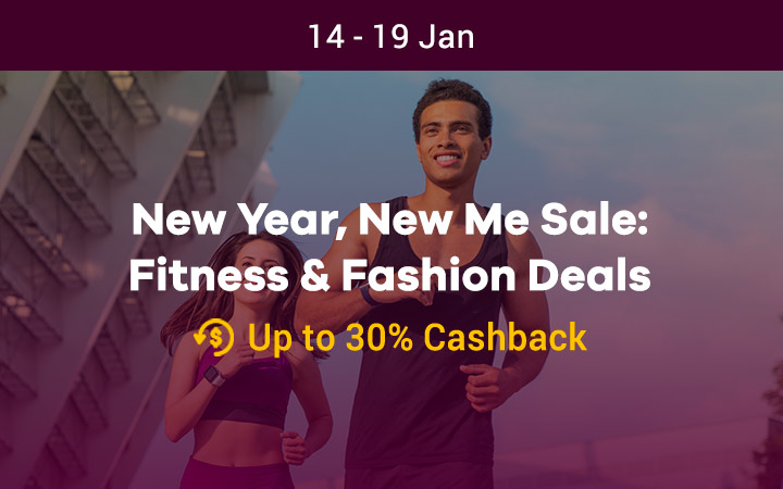 New Year, New Me Sale: Fitness & Fashion Deals