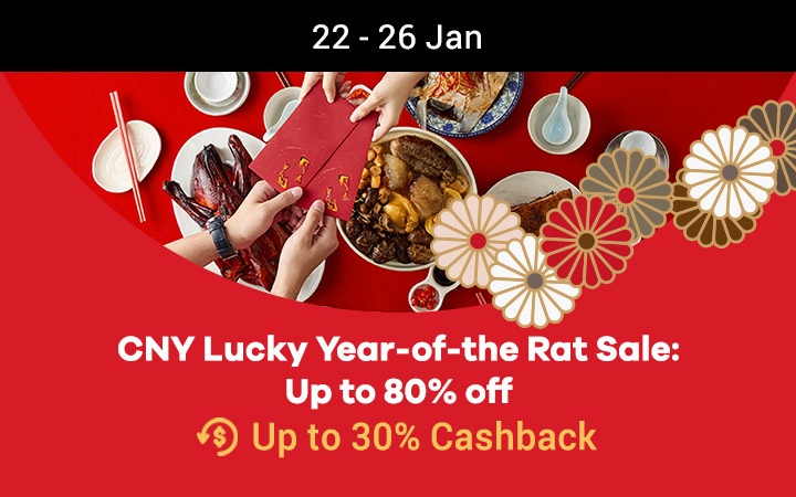 CNY Lucky Year-of-the Rat Sale: Up to 80% off
