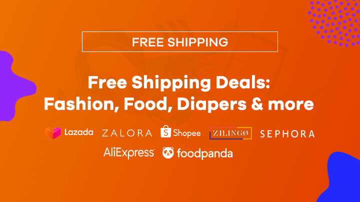 Free Shipping Deals: Fashion, Food, Diapers & more