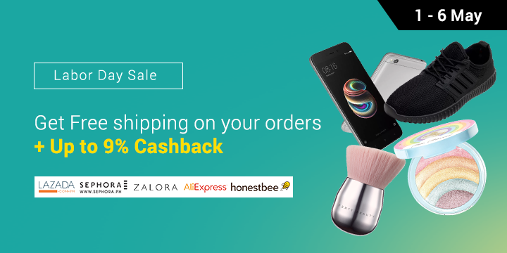 Save cash & Get free shipping on your orders! Fashion, Beauty, & Food deals Up to 50% off + 9% Cashback