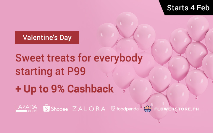 Love is all around: Up to 13% off on your Valentines gifts