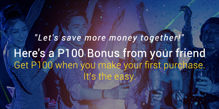Here's P200 Bonus from your friend!