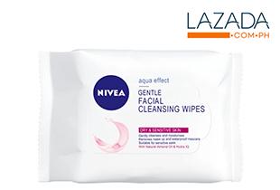 Nivea Gentle Cleansing Wipes