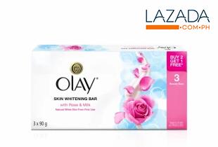 Whitening Bar Soap w/Rose & Milk
