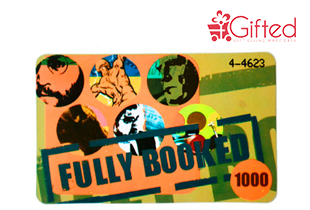 Fully Booked Gift Certificate