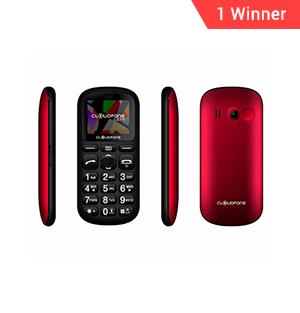 Cloudfone LITE Phone Red