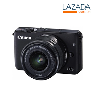 Canon EOS M10 & Lens Kit