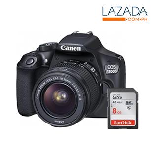 Canon 1300D & Lens Kit