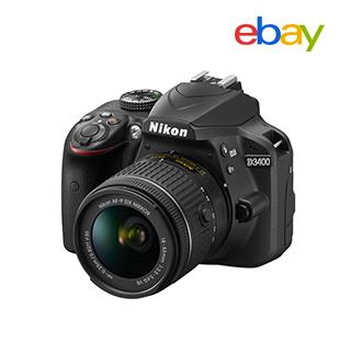 Nikon D3400 + 32GB Kit