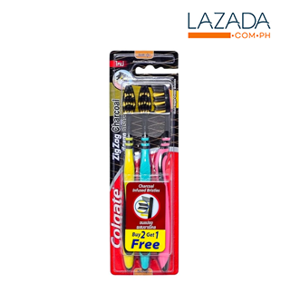 Colgate Zigzag Charcoal Toothbrush