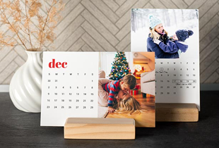 Calendar Cards with Wood: Up to 70% off