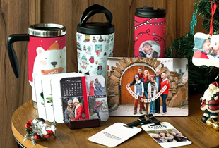 Photo Gifts: Up to 40% off on tumblers, coasters, mugs & more