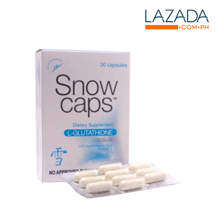 Snow Caps L-Glutathione 500mg