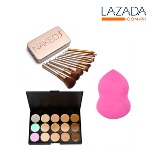 Naked Makeup set