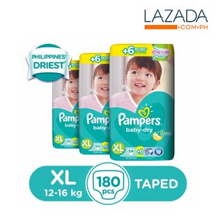 Pampers Baby Dry Diaper 3pack