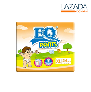 EQ Pants Diaper Big Pack 24's